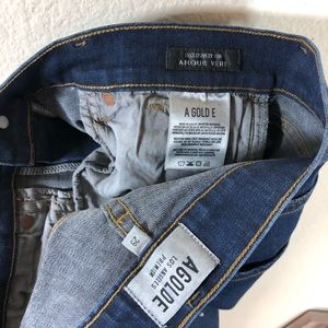 Agolde Jeans - AGOLDE Amour Vert Exclusive Sophie Crop Jeans